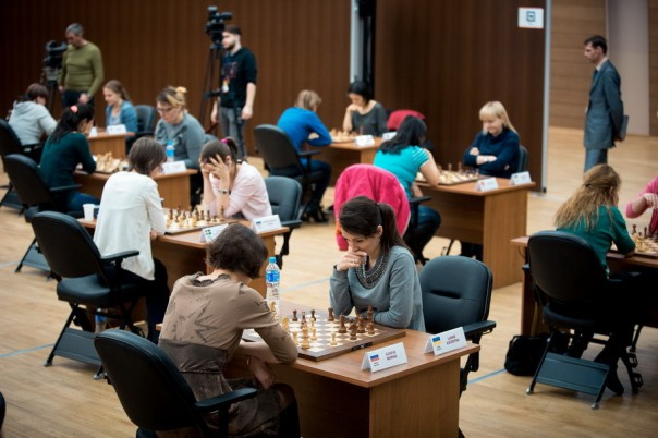 Katerina Lagno is the new Women World Rapid chess Champion!!!